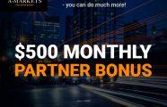 Get $500 extra bonus!