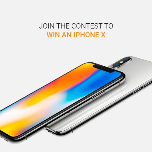 Join the contest and win an iPhone X