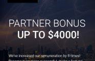 OFFER: + $4000 Partner Bonus