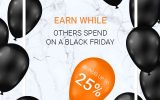 Do not miss an opportunity to get a trading bonus of 25% on your account!