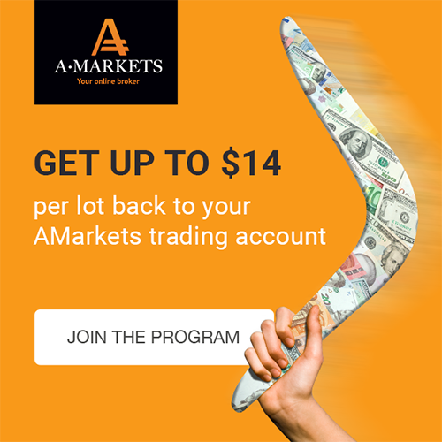 Cashback from AMarkets: advantageous offer for your clients!