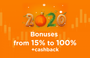 Welcome the New Year with fresh bonuses from AMarkets!